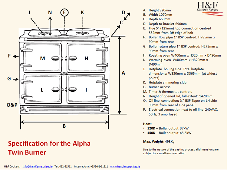 Reconditioned Alpha Cooker from H&F