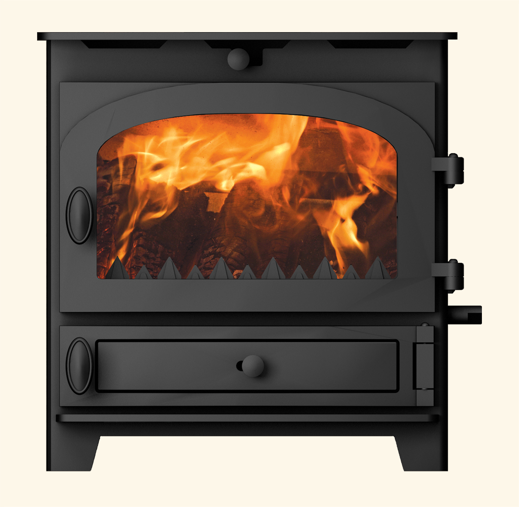 Room heater nonboiler stoves