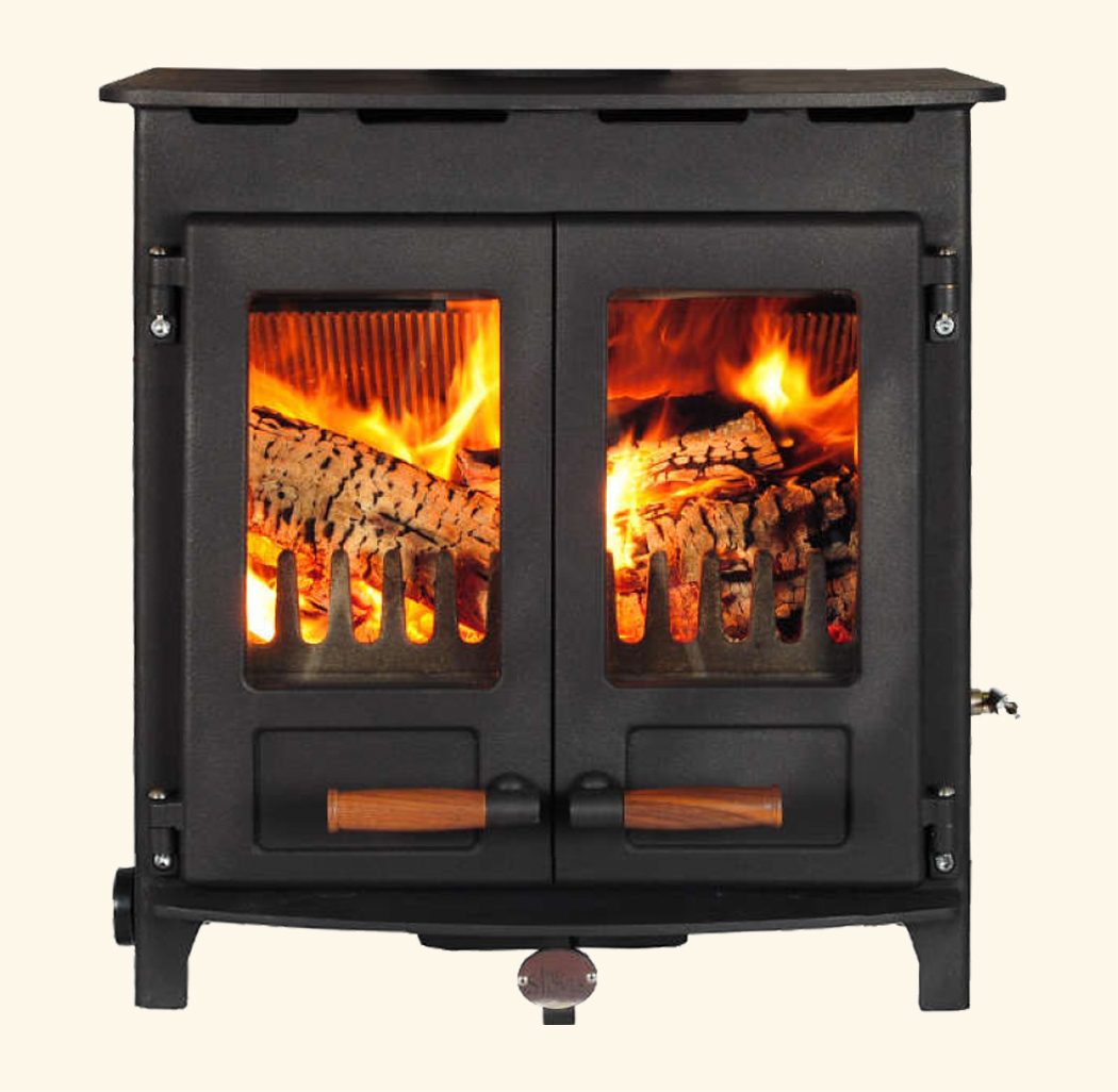Central heating boiler stoves
