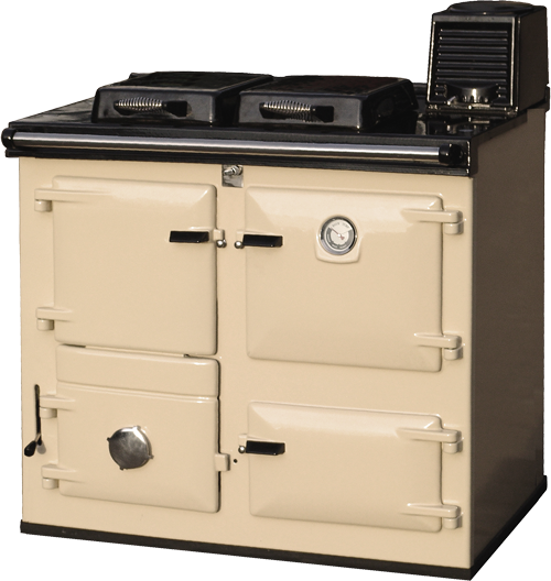 Reconditioned Rayburn Supreme in Cream enamel from H&F