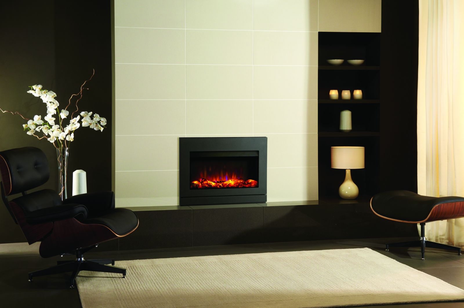 Riva2 670 Designio2 Steel (hearth-mounted)