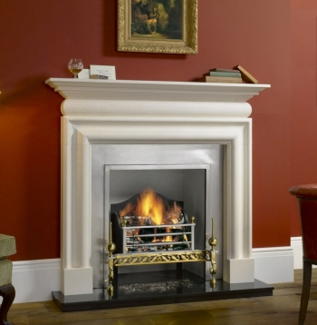 The Cavendish Stone Mantel Limestone