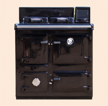 Rayburn MF in Black enamel